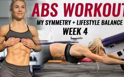 Abs Workout & Updates – Miss WBFF 4 Weeks Out