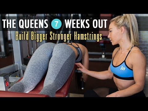Hamstring Workout – Miss WBFF 7 Weeks Out